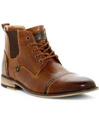 Steve Madden - Jack Cap Toe Boot - Lyst