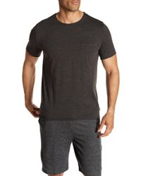 Threads For Thought - Raw Edge Pocket Tee - Lyst