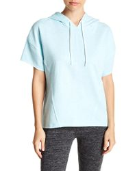Marc New York - Solid Short Sleeve Hoodie - Lyst