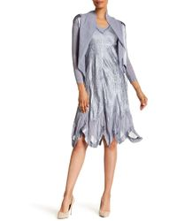 Komarov - Waterfall Jacket & Dress 2-piece Set - Lyst