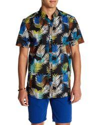 Sovereign Code - Elton Short Sleeve Print Regular Fit Shirt - Lyst
