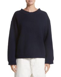 Sofie D'Hoore - Crop Wool Sweater - Lyst