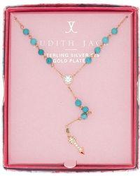 Judith Jack - Inspire Me Boxed Arrow Pendant Y-necklace - Lyst