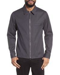 Theory - Rye Holtham Shirt Jacket - Lyst