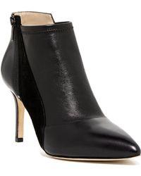 Carolinna Espinosa - Katz Leather Bootie Heel - Lyst