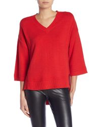 Joe Fresh - Oversized Knit Pullover - Lyst