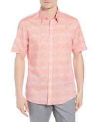 Zachary Prell - Regular Fit Woven Shirt - Lyst