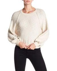 2c8809fe411 Dress Forum - Raglan Sleeve Sweater - Lyst