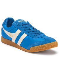 Gola - Harrier Nylon & Suede Sneaker - Lyst