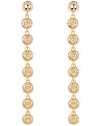 Trina Turk - Superbloom Linear Drop Earrings - Lyst