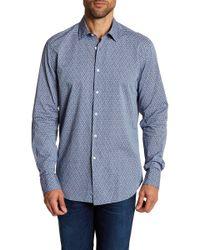 Robert Barakett - Austin Long Sleeve Sport Shirt - Lyst