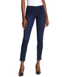 Tractr - Mid Rise Pull On Skinny Jeans - Lyst