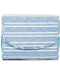 Kestrel - Striped Makeup Valet - Blue - Lyst