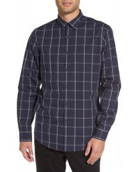 Calibrate - Check Sport Shirt - Lyst
