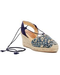 Patricia Green - Paisley Espadrille Wedge Sandal - Lyst