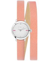 Furla - Women's Vittoria Crystal Accented Analog Quartz Wraparound Watch, 21mm - Lyst