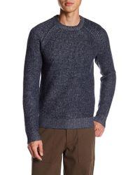 Theory - Crew Neck Merino Wool Sweater - Lyst