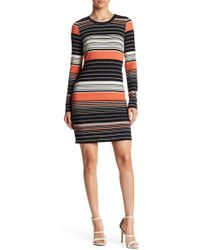Karen Kane - Ensenada Stripe Dress - Lyst