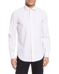 Billy Reid - John T Slim Fit Sport Shirt - Lyst