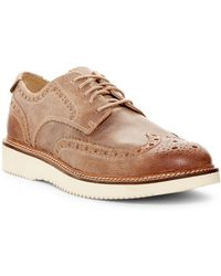 Sperry Top-Sider | Gold Wingtip Wedge Derby | Lyst