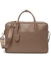 Longchamp Top Handle Leather Briefcase Bag