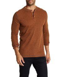 Vintage 1946 - Ribbed Henley Shirt - Lyst