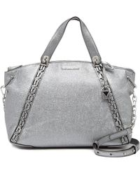 MICHAEL Michael Kors - Chelsea Medium Crackled Leather Tote - Lyst