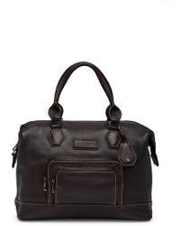 Longchamp - Legend Sp Leather Medium Shoulder Bag - Lyst