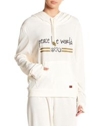 """Peace Love World - """""""" Tour Hoodie - Lyst"""