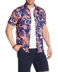 JEFF - Biscayne Printed Regular Fit Shirt - Lyst