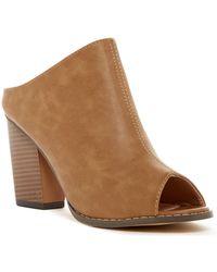 In Touch Footwear - Willy Peep Toe Mule - Lyst