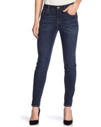 Vigoss - Marley Mid Rise Ankle Skinny Jeans - Lyst