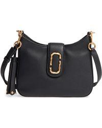 Marc Jacobs - Interlock Small Leather Hobo Shoulder Bag - Lyst