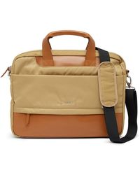 Lodis - Kate Leather Trimmed Nylon Rfid Alexus Briefcase - Lyst