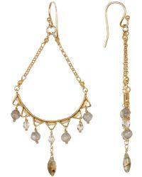 Chan Luu - Faceted Stone Drop Earrings - Lyst