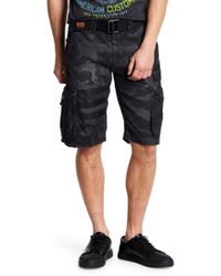 Affliction - Commando Cargo Shorts - Lyst