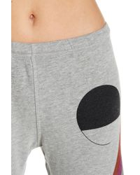 FREE CITY - Circle & Striped Joggers - Lyst