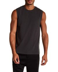 Vince | Distressed Tank | Lyst