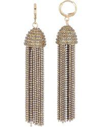 Jessica Simpson - Tassel Cup Dangle Earrings - Lyst