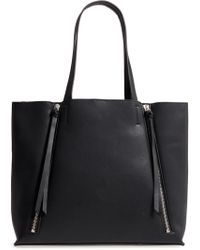 Chelsea28 - Leigh Faux Leather Tote & Zip Pouch - Lyst