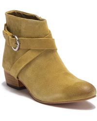 Rebels - Bryce Side Buckle Ankle Bootie - Lyst
