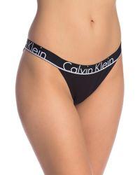 Calvin Klein - Tanga Logo Bikini - Lyst