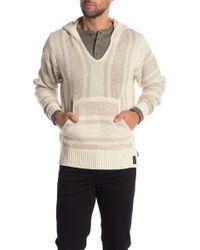 Weatherproof - Marled Knit Hoodie - Lyst