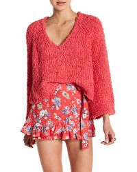 Free People - Sand Dune Knit Pullover - Lyst
