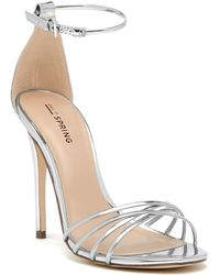 Call It Spring - Fiwien Ankle Strap Heeled Sandal - Lyst