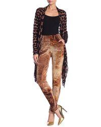 Petit Pois - Corduroy Patterned Skinny Pants - Lyst