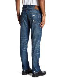 True Religion - Geno Distressed Slim Jeans - Lyst