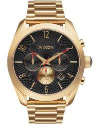 Nixon - Women's Bullet Chrono Bracelet Watch, 42mm - Lyst