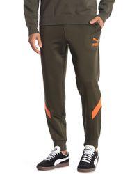 PUMA - Colorblock Track Pants - Lyst