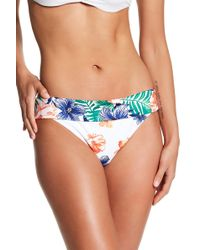 Tommy Bahama - Floral Wide Band Hipster Bottoms - Lyst